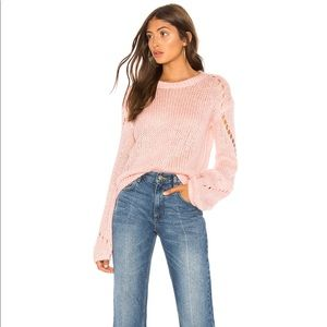 Tularosa Mia open knit sweater